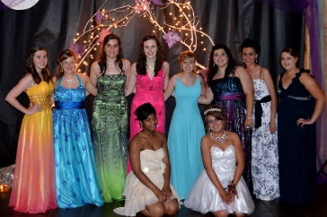 Junior Girls from 2012 Prom