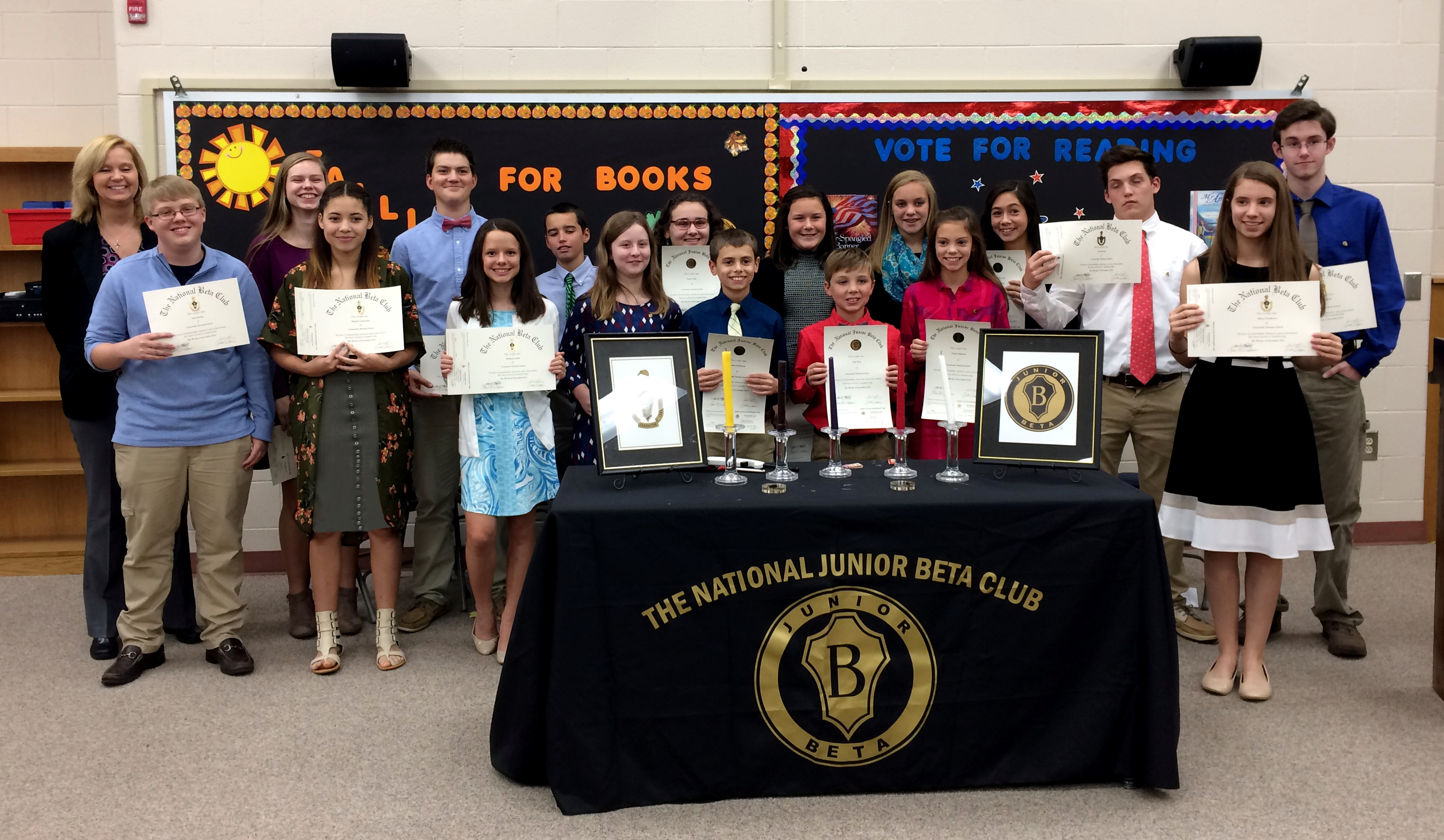 2016-17 Beta Club Induction