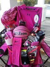 Pink Out Basket - Basketball