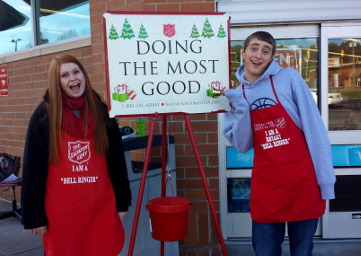 Bell-Ringers for Salvation Army