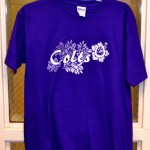 Purple Short-Sleeved T-Shirt