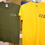 Olive Green and Yellow Shirts