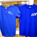 2 Blue Shirts - Fronts