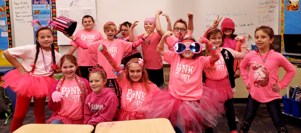 3rd Grade - Winners of Pink Out LS